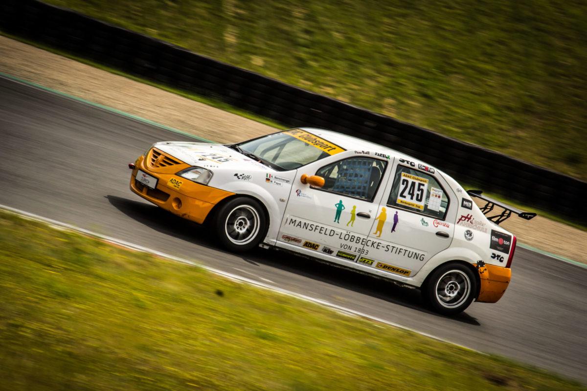 Der Dacia Logan von Mansfeld-Löbbecke-Racing. Bild: Marcus Wendt