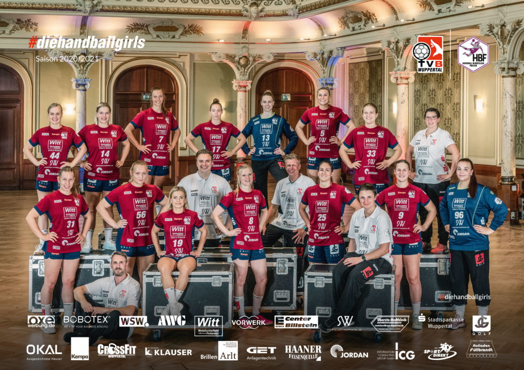 TVB Wuppertal in der Saison 20/21. Foto: Norbert Koch / TV Beyeröhde-Wuppertal